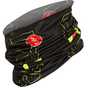 Castelli LW Head Thingy black/yellow fluo